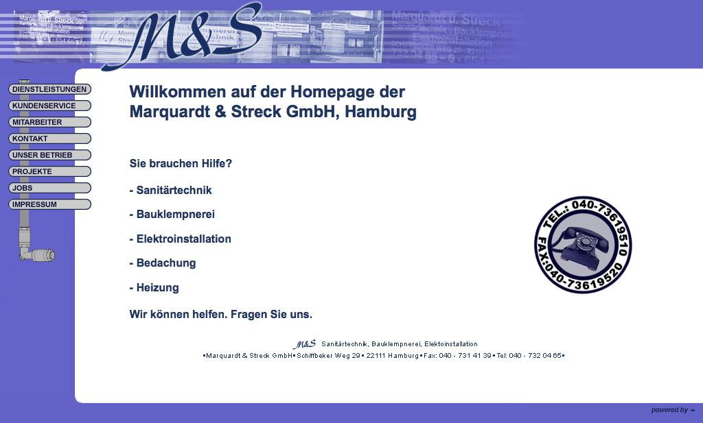 Marquardt & Streck GmbH 2001
