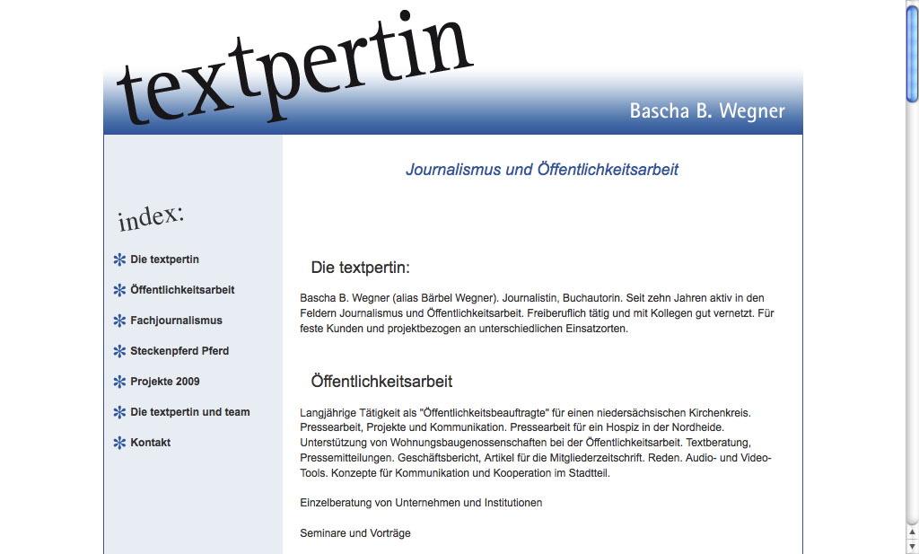 Textpertin Hamburg 2007